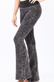 Zenana Outfitters Mineral Wash Pants - Front cropped