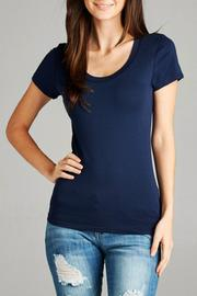Zenana Outfitters Scoop Neck Tee - Product Mini Image