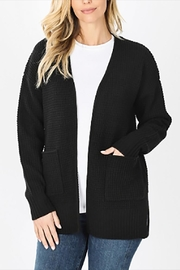 Zenana Outfitters The Andi Cardigan - Front cropped