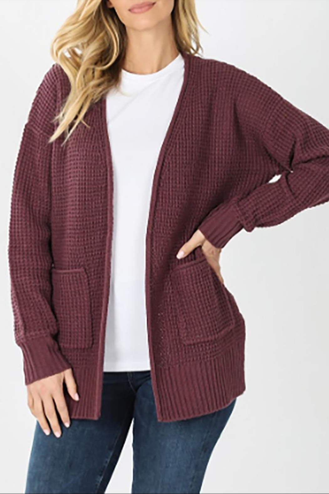 Zenana Outfitters The Andi Cardigan - Front Cropped Image