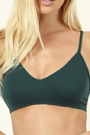 Zenana Outfitters V-Front Bralette - Front cropped