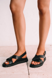 BILLINI ZENDAYA Buckle Strap Sandal - Product Mini Image
