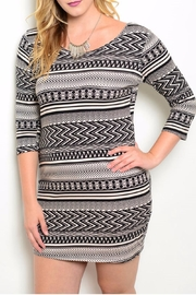 Zenobia Aztec Dress - Product Mini Image