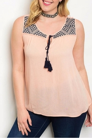 Zenobia Peach Tank - Product Mini Image