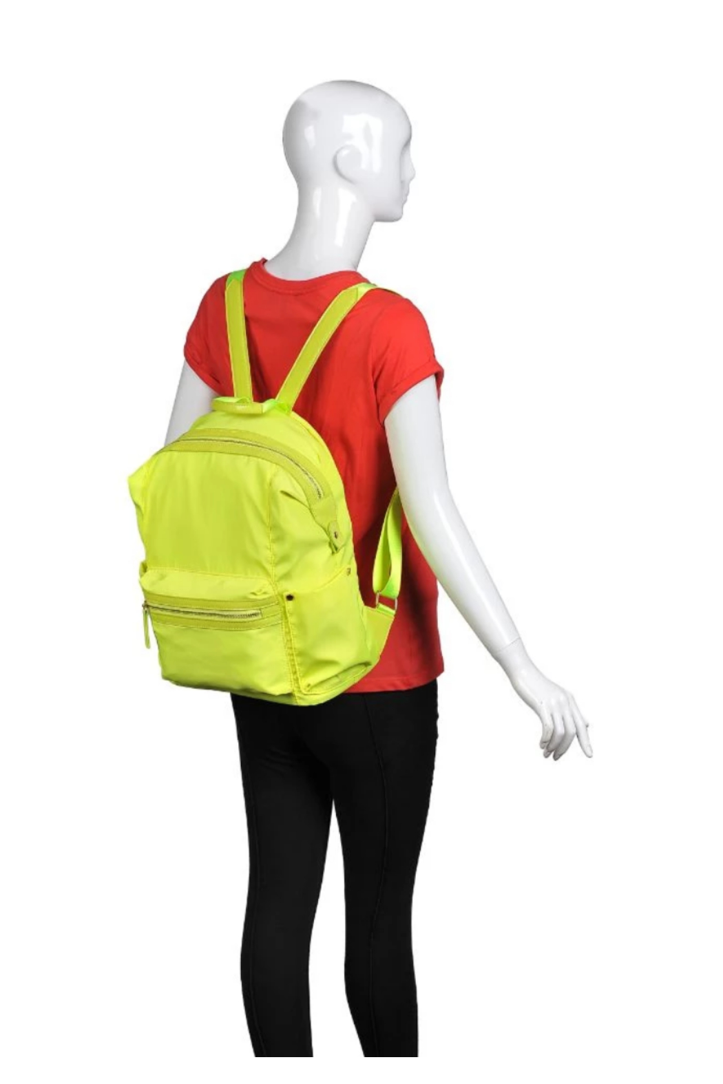Urban Expressions Zenon Back Pack - Back Cropped Image