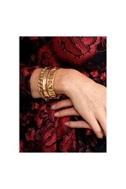 Zenzii Atlas Bangle In Gold - Product Mini Image