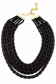 Zenzii Beaded Bib Necklace - Product Mini Image