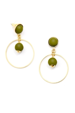 Shoptiques Product: Beaded Drop Earring