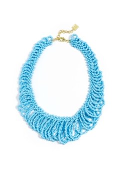 Zenzii Beaded Statement Necklace - Product List Image