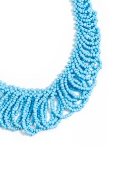 Zenzii Beaded Statement Necklace - Alternate List Image