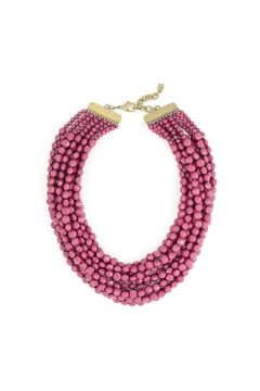 Zenzii Berry Statement Necklace - Alternate List Image