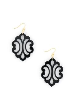Shoptiques Product: Blooming Reflection Earrings