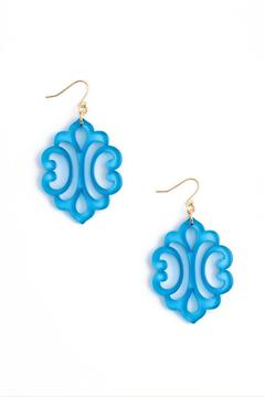 Zenzii Blooming Reflection Earrings - Alternate List Image