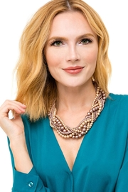 Zenzii Braided Pearls Necklace - Side cropped