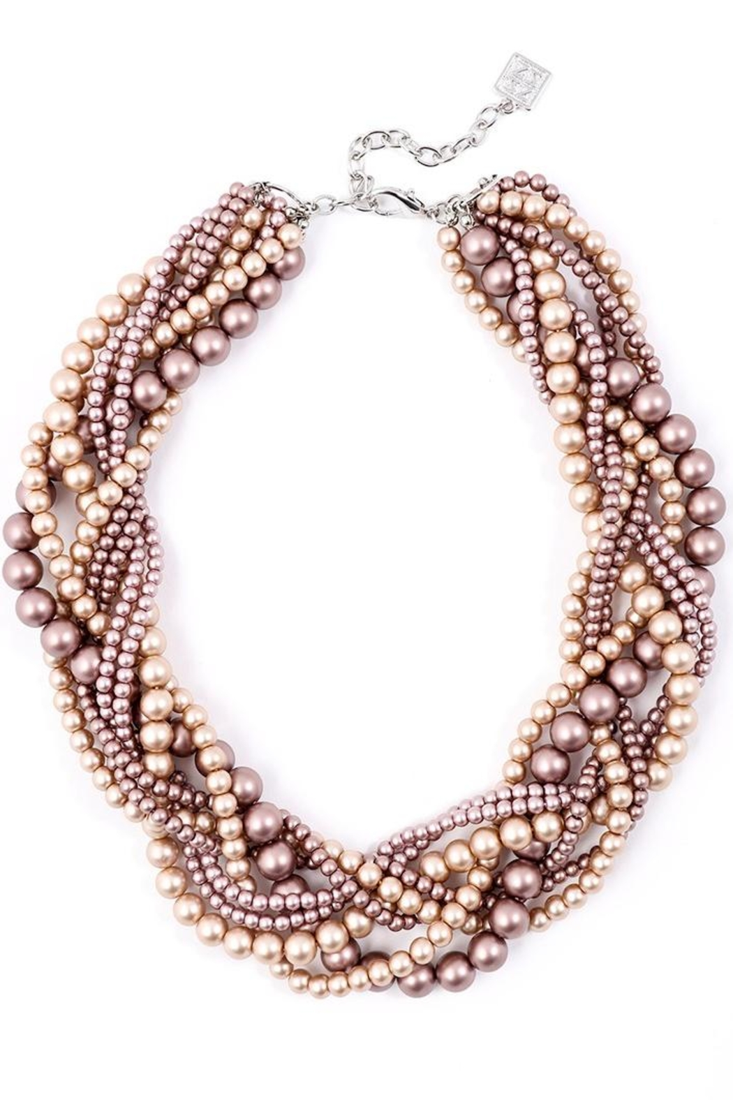 Zenzii Braided Pearls Necklace - Main Image