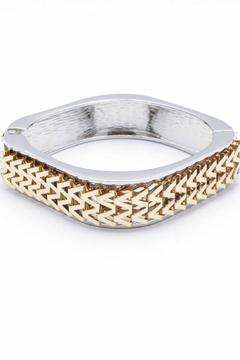 Zenzii Chevron Bangle - Product List Image