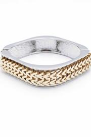 Zenzii Chevron Bangle - Product Mini Image