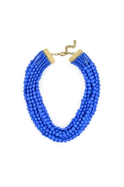 Zenzii Cobalt Statement Necklace - Product Mini Image