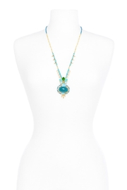 Zenzii Dancing Stones Necklace - Back cropped