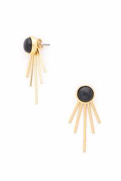 Zenzii Deco Spike  Stud Earrings - Product List Image