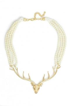 Zenzii Deer Me Necklace - Alternate List Image