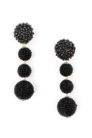 Zenzii Glam Ball Earrings - Front cropped