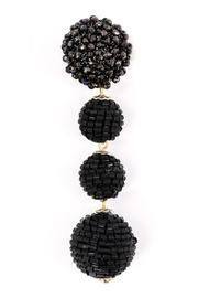 Zenzii Glam Ball Earrings - Side cropped