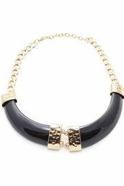 Zenzii Horn Bib Necklace - Product Mini Image