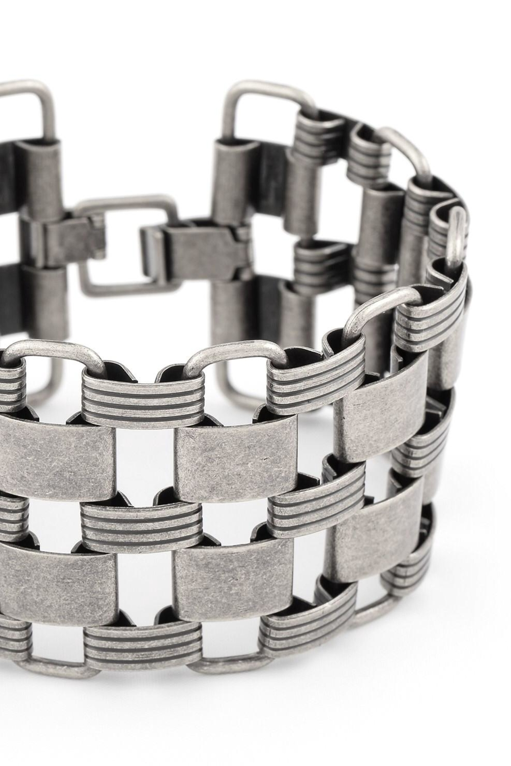 Zenzii Links Wide Bracelet - Front Full Image