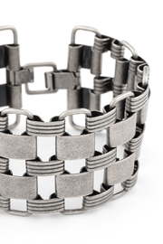 Zenzii Links Wide Bracelet - Front full body