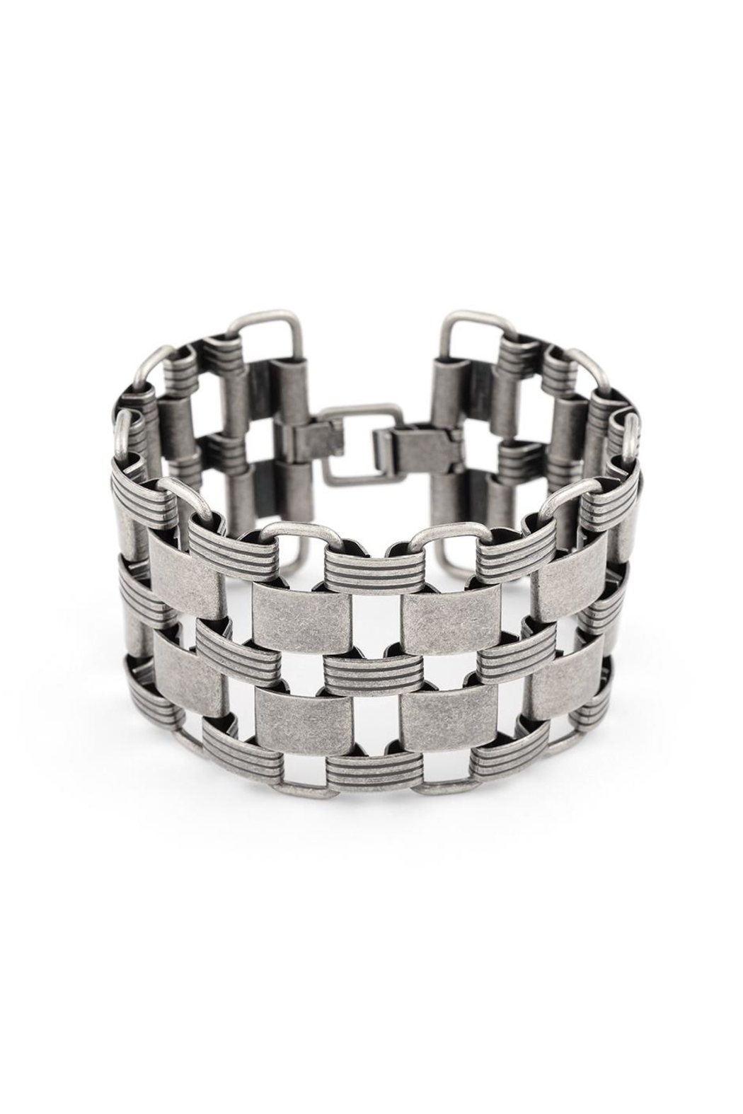 Zenzii Links Wide Bracelet - Main Image