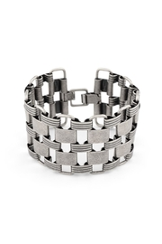 Zenzii Links Wide Bracelet - Front cropped