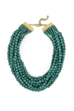 Shoptiques Product: Matte Bib Necklace
