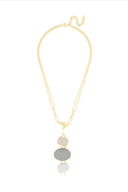 Zenzii Matte Shapes Necklace - Product Mini Image