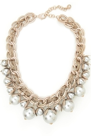 Zenzii Pearl Bib Necklace - Product Mini Image