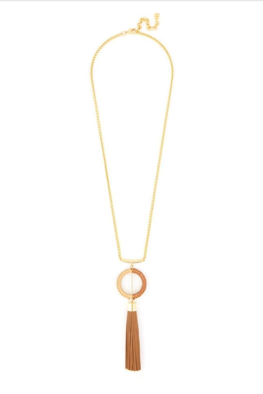 Zenzii Tassel Pendant Necklace - Main Image