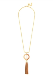 Zenzii Tassel Pendant Necklace - Front cropped
