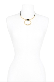 Zenzii Wrapped Bar Necklace - Side cropped