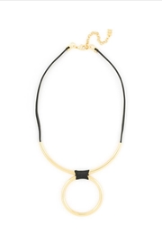 Zenzii Wrapped Bar Necklace - Front cropped