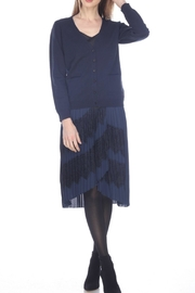 Zero Degrees Celsius Lace Back Cardigan - Front full body