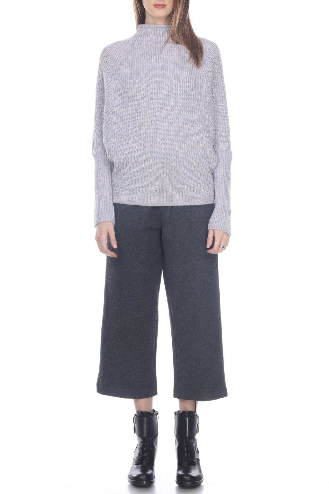 Zero Degrees Celsius Mock Neck Sweater - Front Cropped Image
