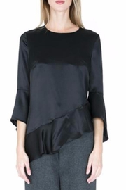 Zero Degrees Celsius Silk Ruffle Blouse - Front cropped