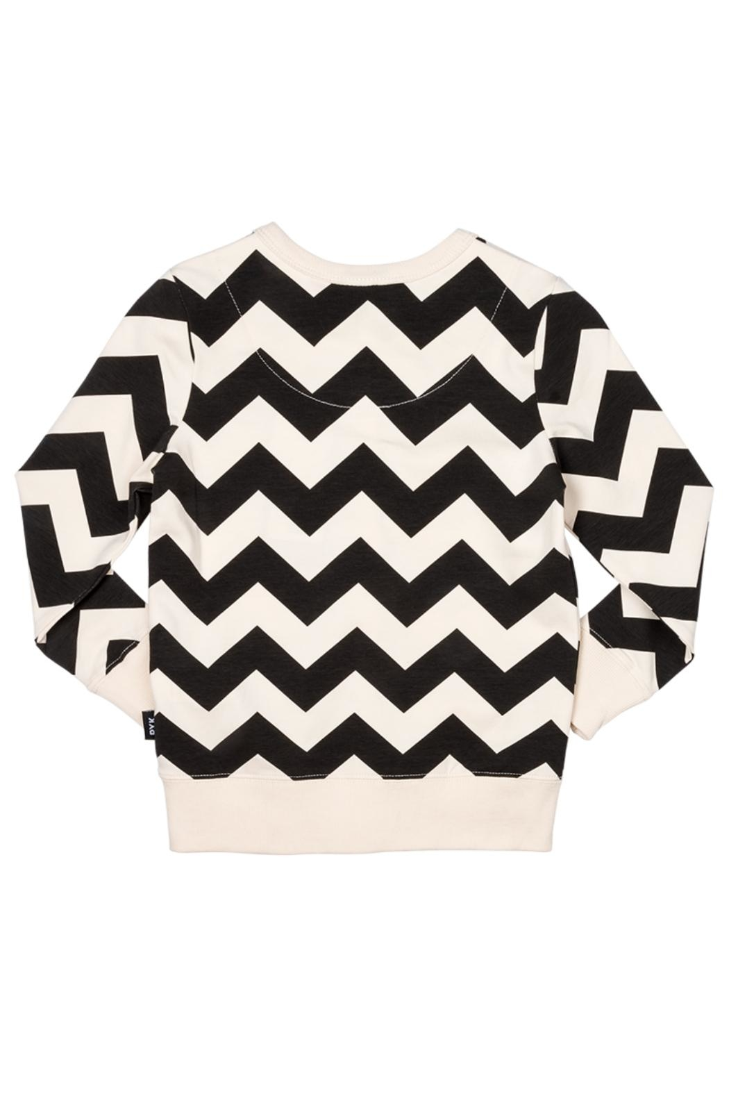Rock Your Baby Zig Zag Cardigan - Front Full Image