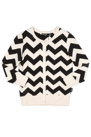 Rock Your Baby Zig Zag Cardigan - Front cropped