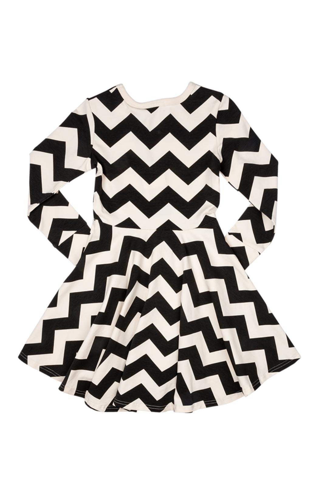 Rock Your Baby Zig Zag Dress - Side Cropped Image