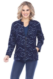 Parsley & Sage Zig-Zag Jacket - Product Mini Image
