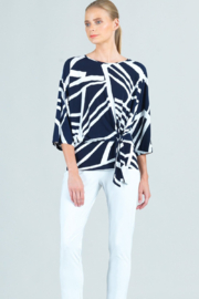 Clara Sunwoo  Zig Zag Striped Top - Product Mini Image
