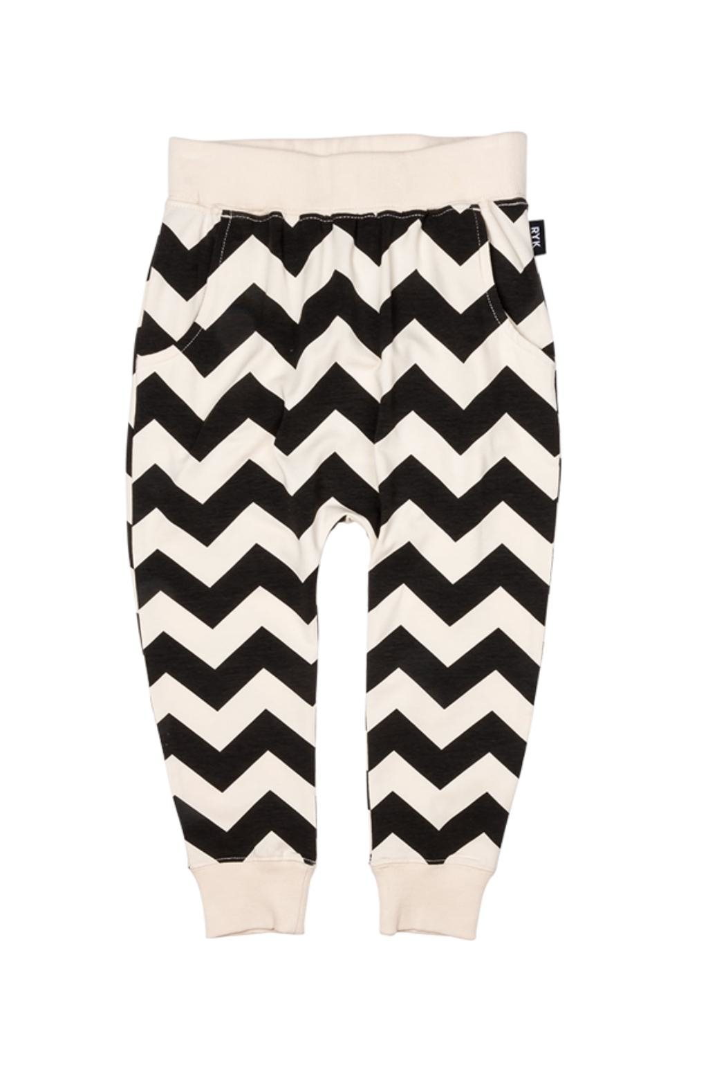 Rock Your Baby Zig Zag Trousers - Main Image