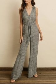 dress forum Zigzag Cutout Jumpsuit - Front cropped