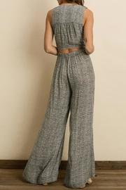 dress forum Zigzag Cutout Jumpsuit - Front full body